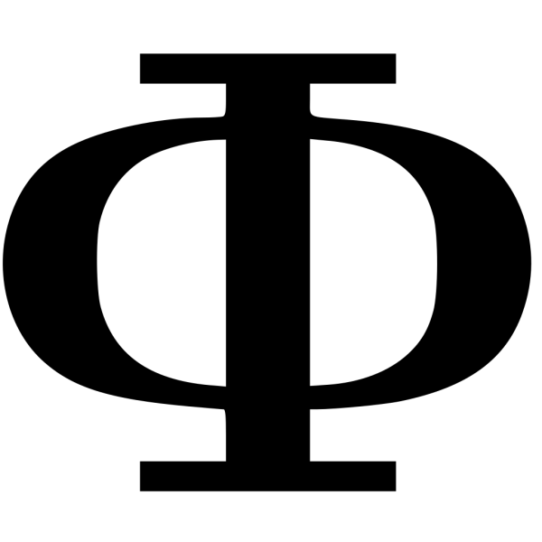 Cyrillic Letter Ф PNG Clip art