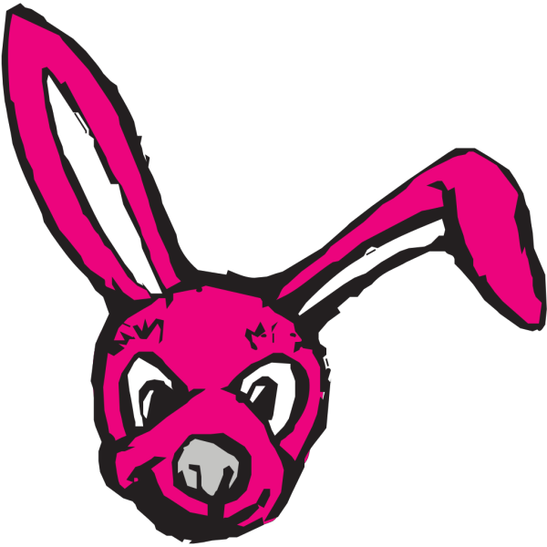Scary Bunny PNG Clip art
