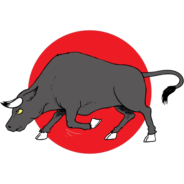Bull Preparing To Charge PNG Clip art