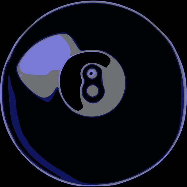 Ball N.8 PNG Clip art