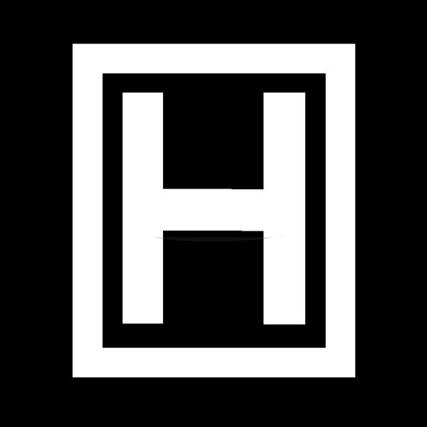 Cyrillic Letter H PNG Clip art