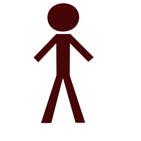Brown Person PNG Clip art