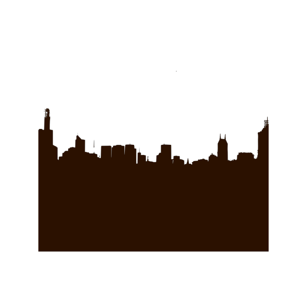 Basic City Silhouette PNG images
