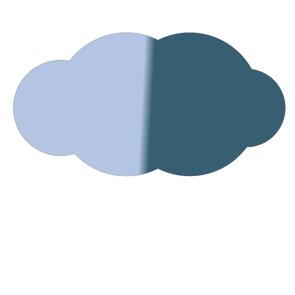 Thunder Cloud PNG Clip art