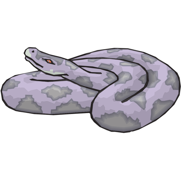 Coiled Snake PNG Clip art