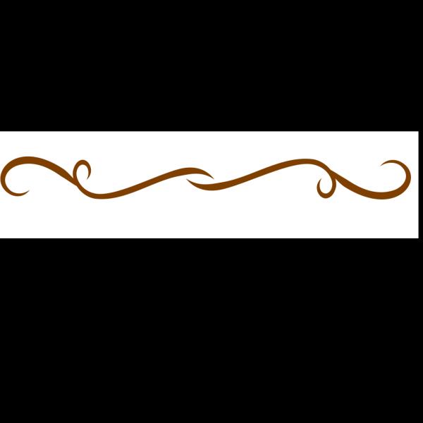 Brown Divider PNG Clip art