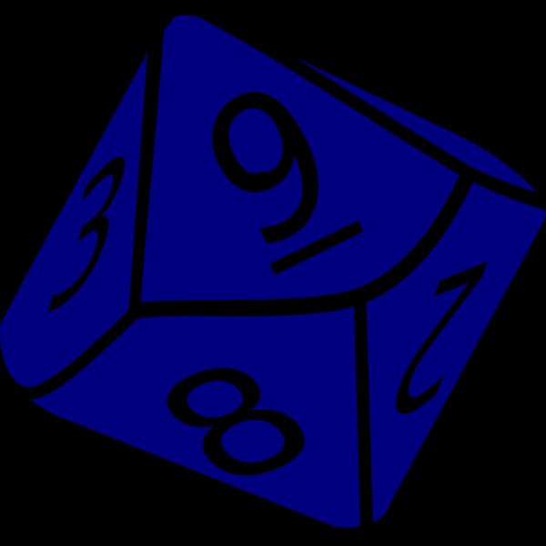 Ten Side Dice PNG Clip art