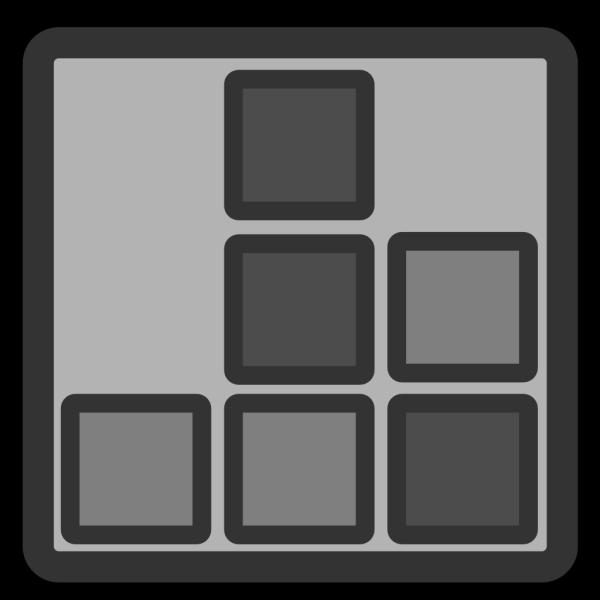 Tetris PNG icons