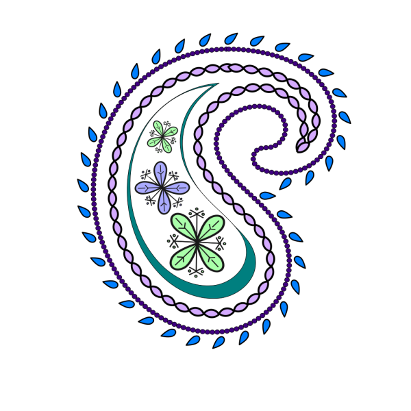 Paisley new 1 PNG images