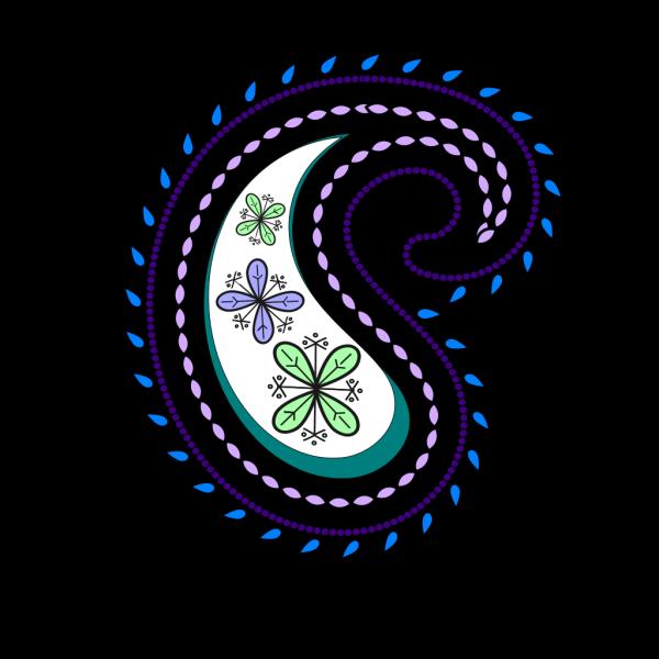 Paisley new 1 PNG Clip art