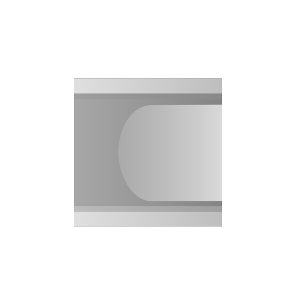 Grey Button Rounded PNG Clip art