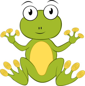 Yellow And Brown Frog PNG Clip art