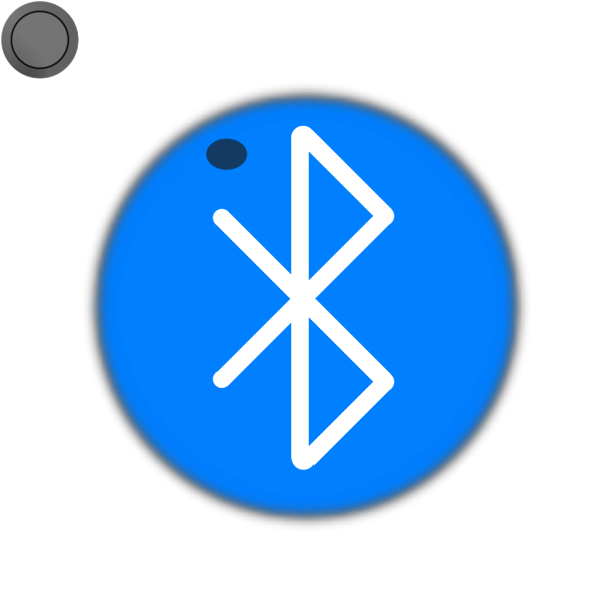 Bluetooth Button On PNG Clip art