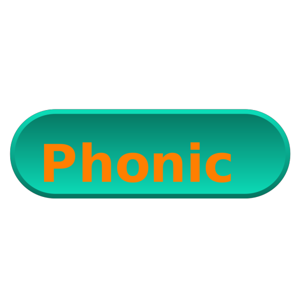 Selected Phonics PNG Clip art