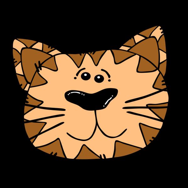 Brown Cat PNG Clip art