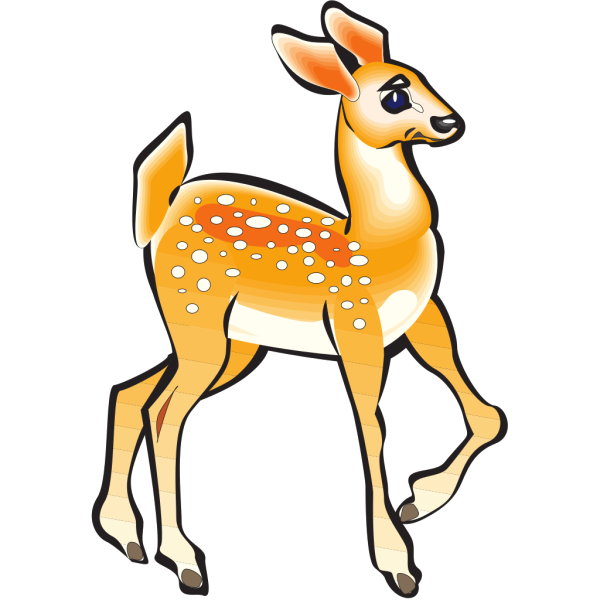 Posing Fawn PNG images
