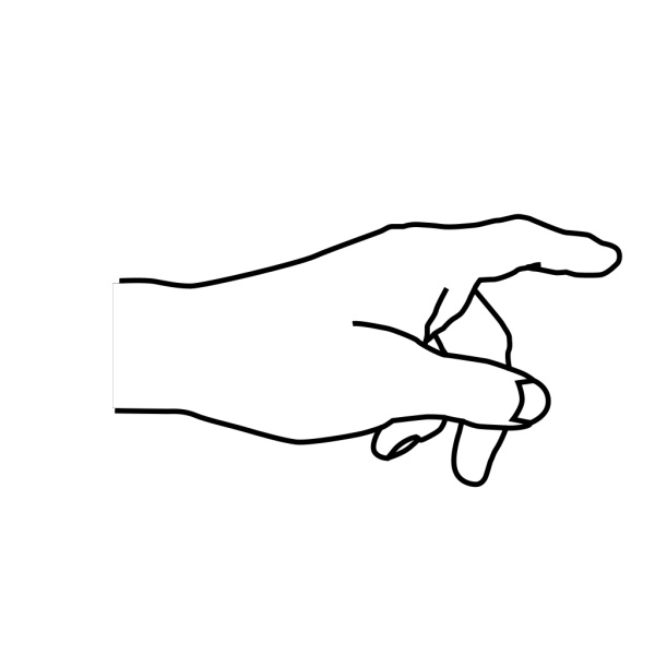 Hand Pointing PNG Clip art