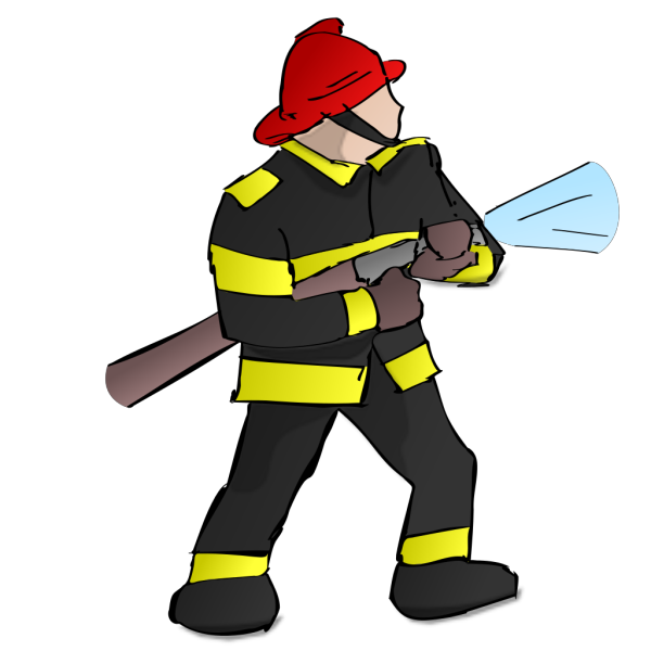 Fire Fighter PNG image