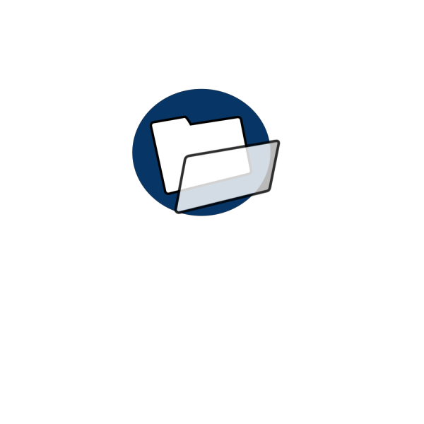Blue File PNG icon