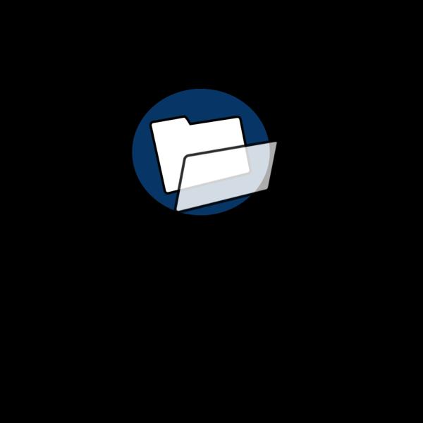 Blue File PNG images