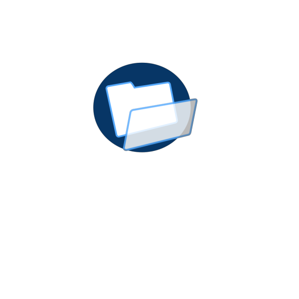 Light Blue File PNG icon