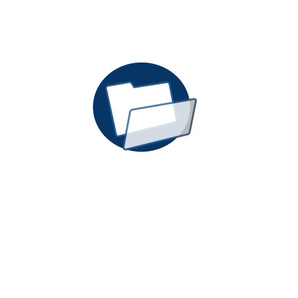 Dark Blue File PNG icons