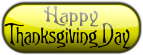 Happy Thanksgiving Day PNG Clip art