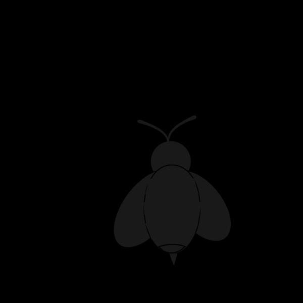 Black Bee PNG Clip art