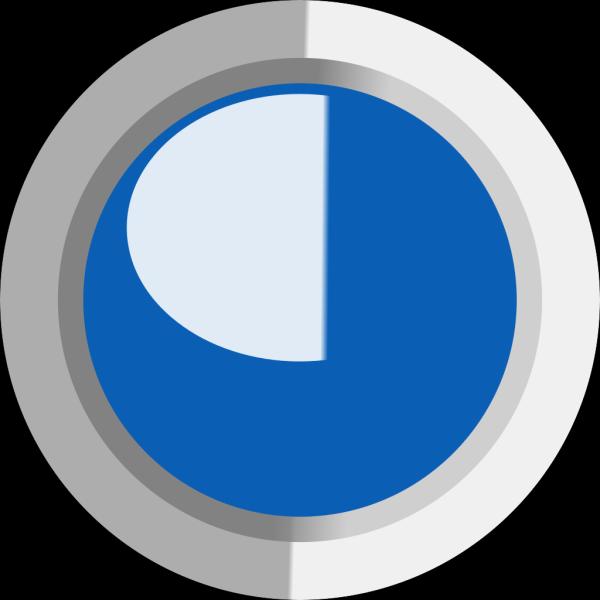 Dark Blue  Led Circle PNG icons