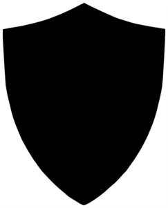 Black Shield PNG icons
