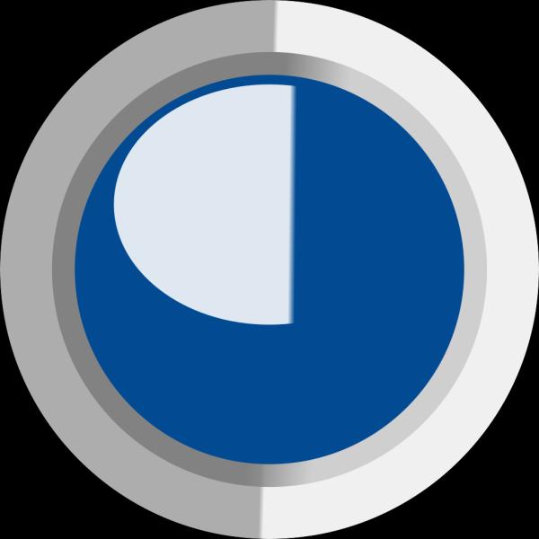 Dark Dark Blue  Led Circle PNG Clip art