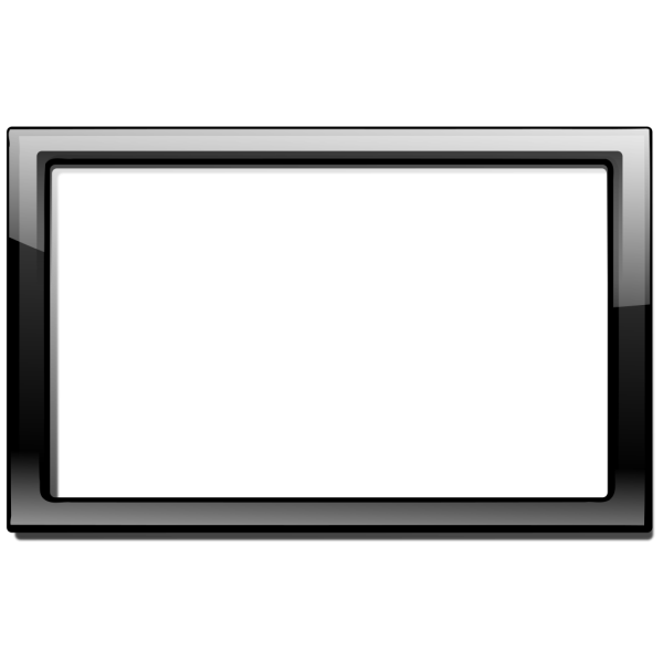 Black Frame PNG icons