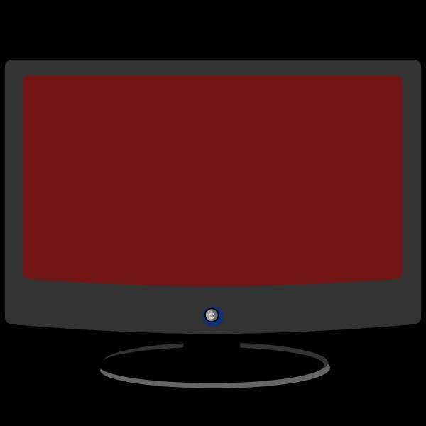 Computer Monitor - Brown PNG Clip art