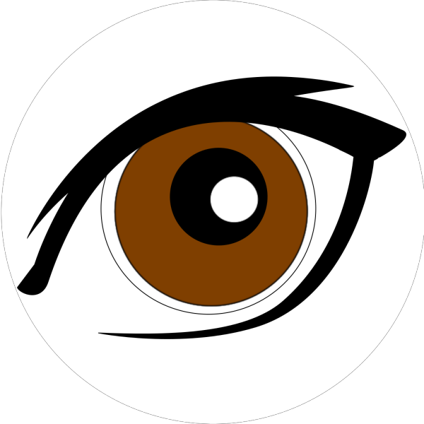 Cartoon Eye New Clip art