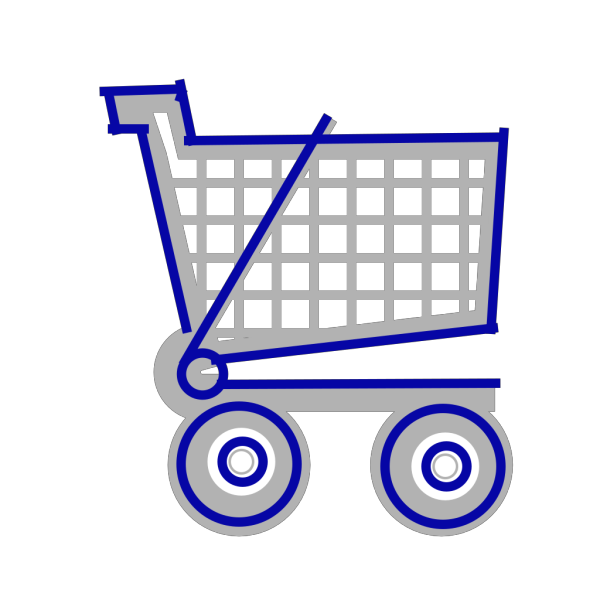 Cart Small-gray-blue PNG images