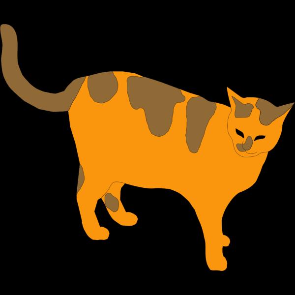 Orange And Brown Cat PNG Clip art