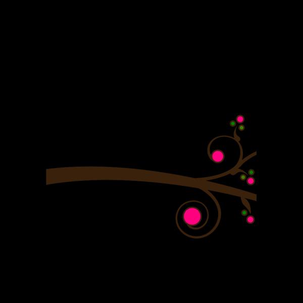 Simple Branch 1 PNG Clip art