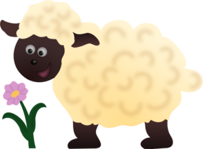 Sheep Side View PNG Clip art