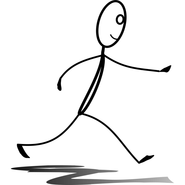 Stickman Running PNG Clip art