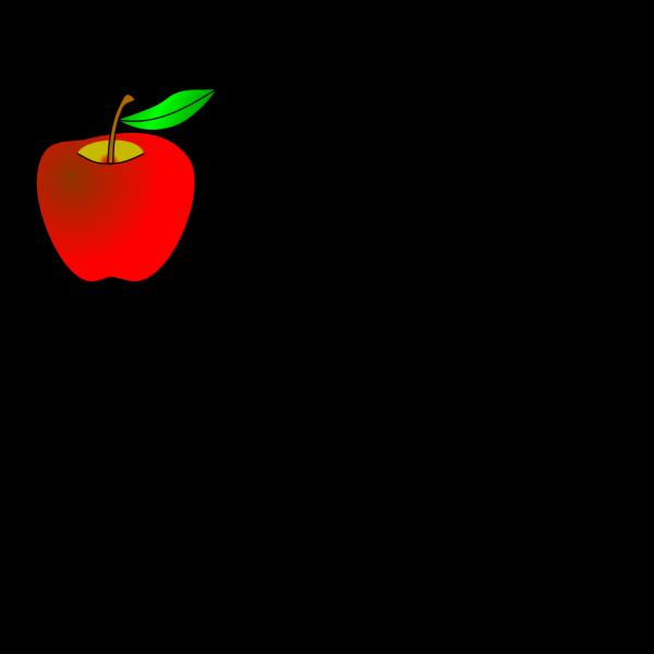 Apple Outline PNG Clip art