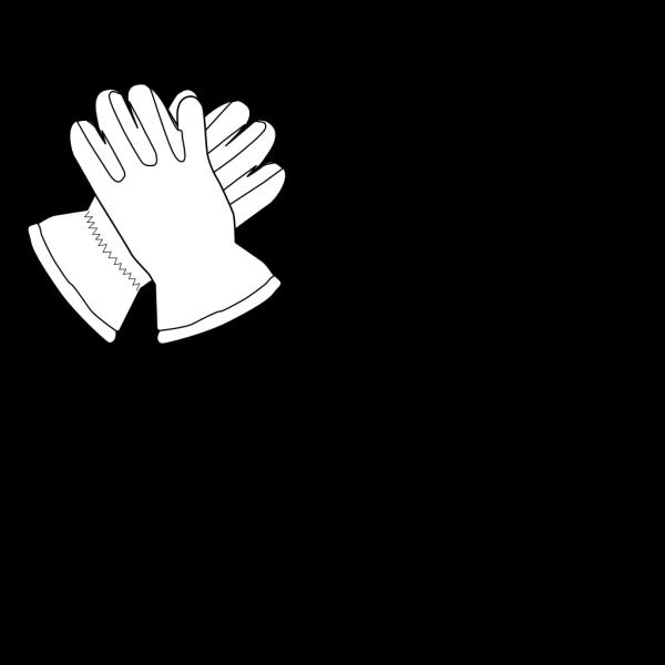 Gloves Outline PNG Clip art