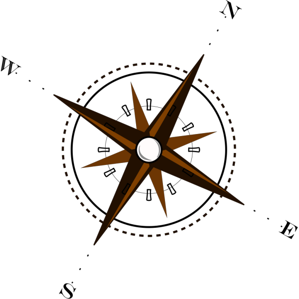 Compass Brown PNG Clip art