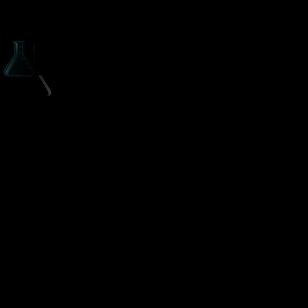 Black Flask PNG Clip art