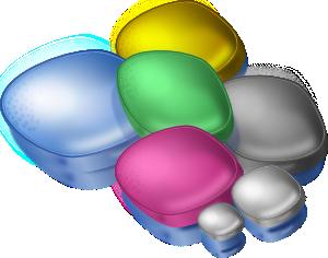B&w Candy PNG Clip art