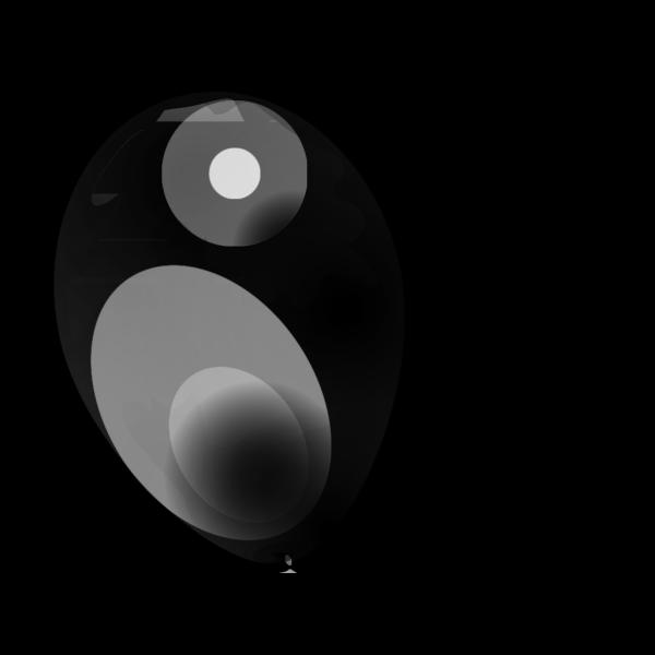Black Balloon PNG Clip art