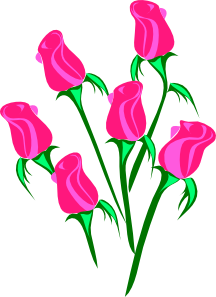 Roses Border PNG Clip art