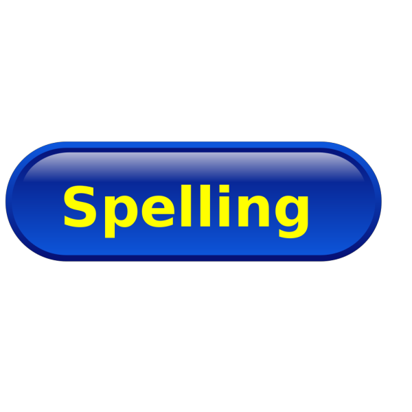 Spelling PNG Clip art