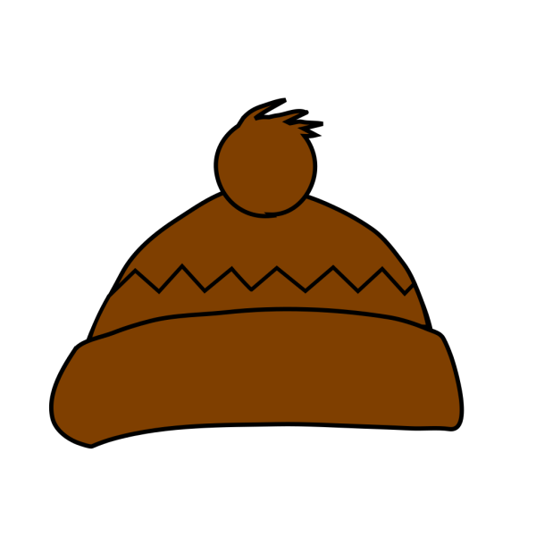 Brown Winter Hat PNG images