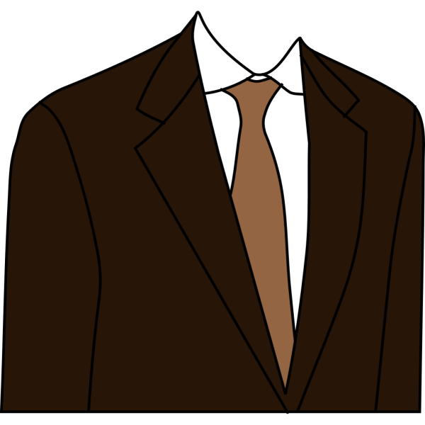 Brown Suit PNG images