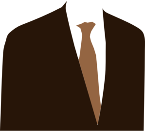 My Brown Suit PNG Clip art